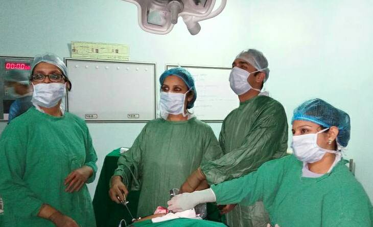 During-surgery