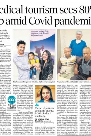 Hindustan Times (30 Dec 2020) Input on Story