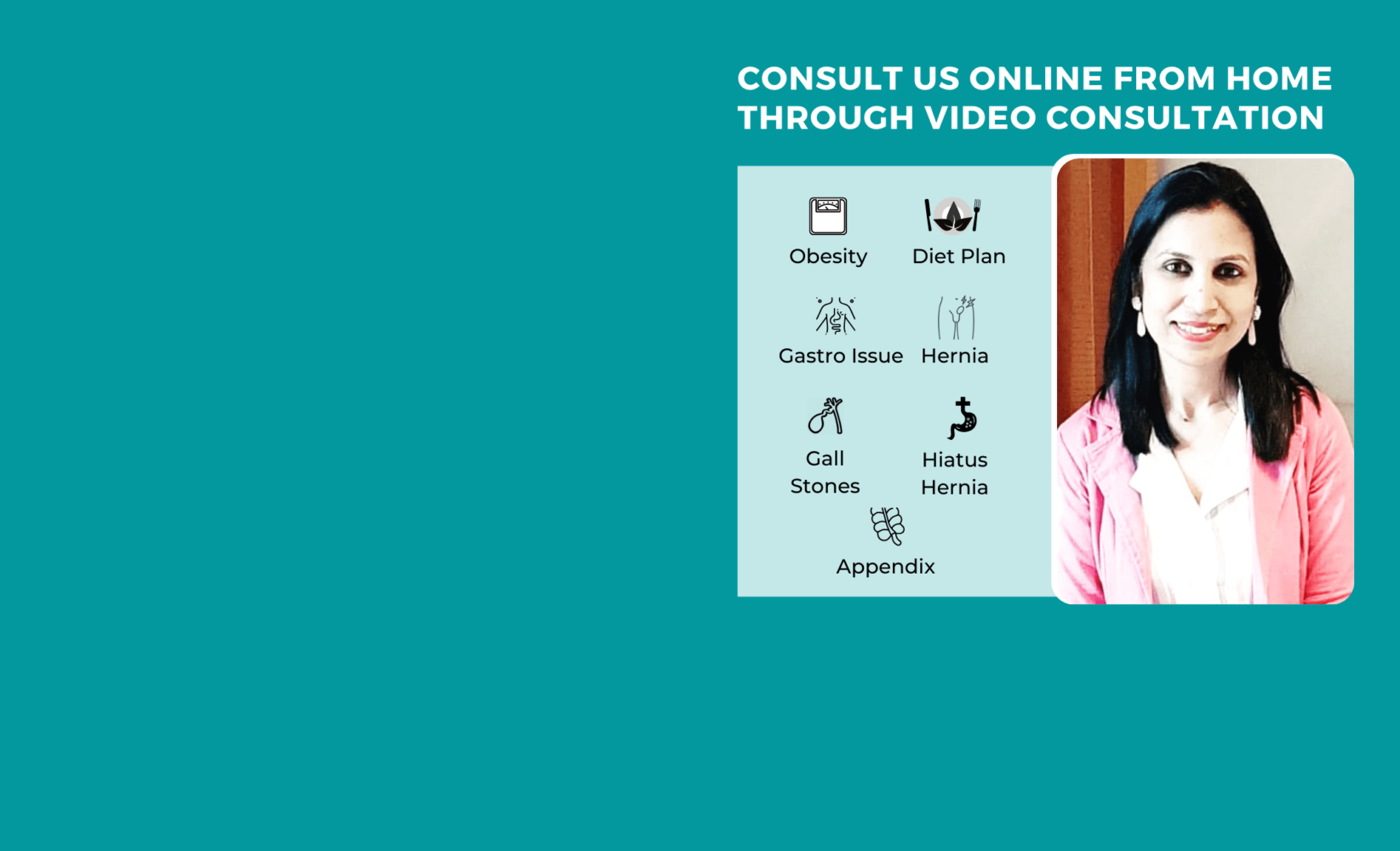 Dr. Aparna website banners