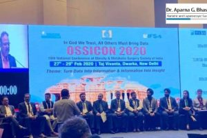DR. APARNA GOVIL BHASKER ELECTED IN OSSI EXECUTIVE COMMITTEE