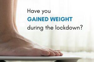 Weight gain during lockdown